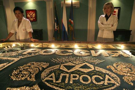L'entreprise russe souhaite proposer à Sotheby's la vente de diamants plus chers au milieu de cette année. Crédit photo: AP