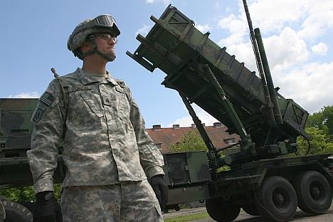 Les missiles Patriot déployées à Morag (Pologne), à 60 km de la frontière la région russe de Kaliningrad. Crédit : RIA Novosti / Igor Zarembo