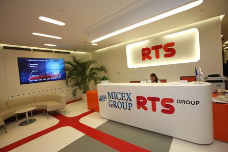 Jusqu'à présent, la bourse de Moscou proposait des échanges avec paiement différé dans la section Standard (une partie de l'ancien marché spot de la bourse RTS, mode de transaction T+4). Crédit : Itar-Tass