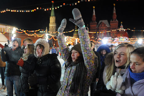 Unter den Jugendlichen lässt sich keine klare Oppositionsgruppierung erkennen, da diese von der Politik enttäuscht ist, meint die Soziologin Elena Omeltschenko. Foto: ITAR-TASS