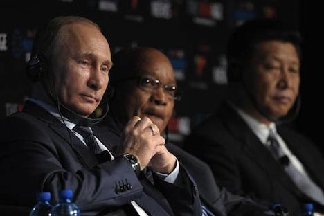 Les chefs des BRICS ont condamné sans réserve le conflit qui a éclaté en République centrafricaine et ont appelé toutes les parties en conflit à revenir à la table des négociations. Crédit : Itar-Tass