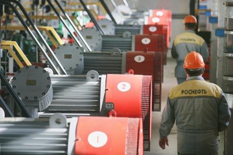 Aujourd'hui, Rosneft a racheté deux parts de 50% de TNK-BP à BP et AAR. Crédit : Itar-Tass