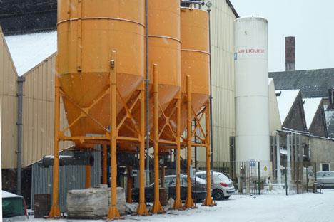 L'usine Sambre-et-Meuse dans le Nord-Pas-de-Calais. Source : Service de presse