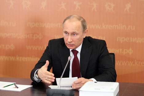 Il convient de noter qu'en mars 2012, le Président a signé un décret selon lequel du 25 juin au 25 juillet 2013, les participants étrangers de l'Universiade de Kazan pourront entrer et sortir de Russie sans visa. Crédit photo : ITAR TASS