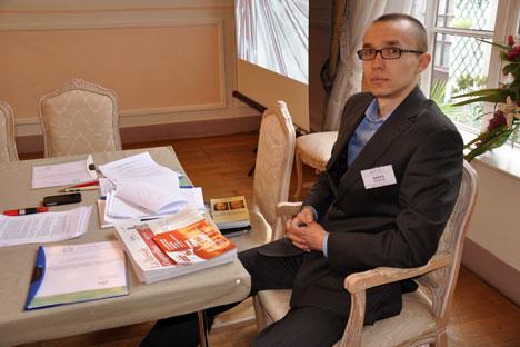 L'organisation dirigée par Mark Amirov (sur la photo) compte créer des conditions nécessaires pour la préparation et le perfectionnement du personnel administratif dans l'espace eurasiatique. Crédit : Nikolaï Ramenskiï
