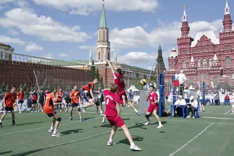 L'éducation physique des enfants représente un sujet d'une grande importance qui n'est presque pas abordé par les écoles de Russie. Crédit : PhotoXPress