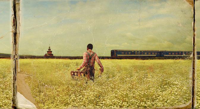 Série «Quel monde magnifique», Piotr Lovigin, °Clair Galerie. Crédit photo :