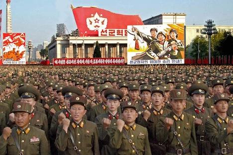 Depuis un 3e essai nucléaire nord-coréen le 12 février et un nouveau train de sanctions de l'ONU à l'égard de Pyongyang, la tension était remontée en flèche sur la péninsule coréenne. Crédit : AP