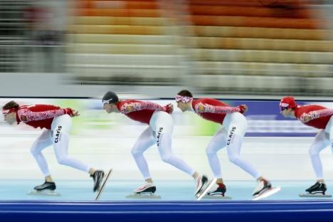 """Vitali Moutko : """"Pour le moment, notre objectif est de prendre la quatrième ou cinquième place"""". Crédit : AP"""