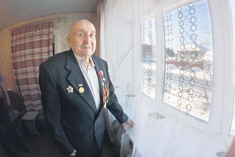 Nikolaï Vassenine dans sa maison près d'Ekaterinbourg. Crédit photo : Tatiana Andreeva