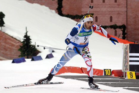 Martin Fourcade. Crédit photo : AFP / East News