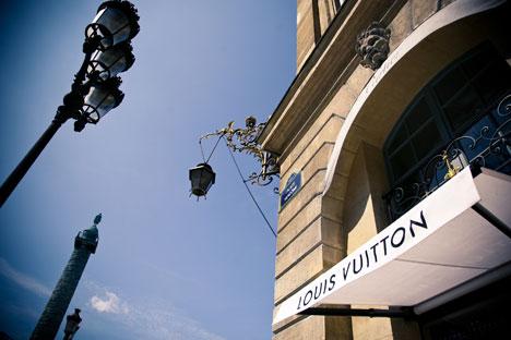 LV war der erste Einzelhandelskonzern im Luxusgütersegment, der selbstständig auf den russischen Markt ging. Foto: Kommersant