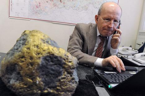 Sergueï Kachouba, président de l'Union des producteurs d'or russes. Crédit photo : Kommersant photo