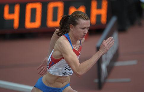 La coureuse de 26 ans Elena Churakova a été interdite de compétition pour deux ans à cause de son cas avéré de dopage. Crédit : Syisoev/Ria Novosti