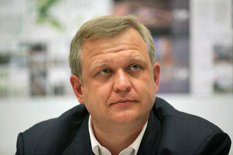 """Sergueï Kapkov : """"Selon les sondages, un moscovite dépense 13-14h par semaine pour la culture."""" Crédit : RIA Novosti"""