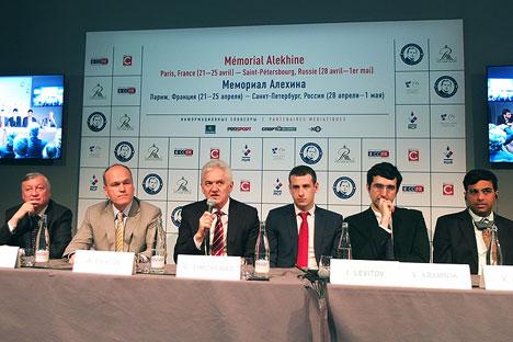 Le tournoi fera l'objet d'une retransmission en ligne et vidéo avec des commentaires en trois langues - russe, français et anglais. Crédit : Maria Tchobanov
