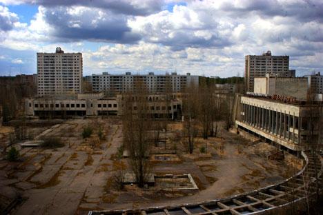 Le 26 avril 2013 est un jour marqué d'une pierre noire dans le monde entier : c'est le 27e anniversaire de l'accident de la centrale nucléaire de Tchernobyl. Crédit : Ricardo Marquina