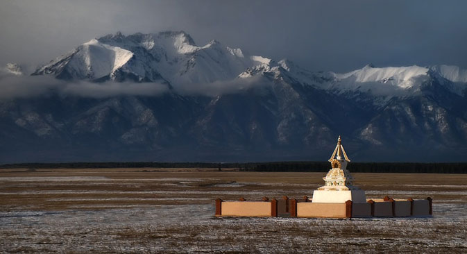 La ville d'Oulan-Oude est connue comme le principal centre bouddhiste de Russie. Crédit : Igor Glouchko