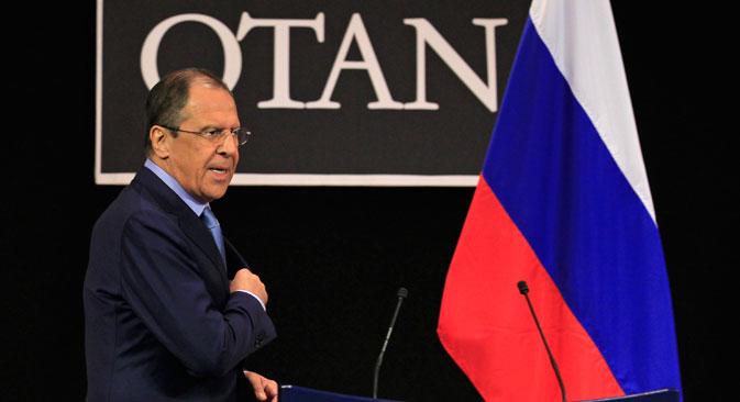 Cette réunion du Conseil Russie Otan est la première depuis l'abandon par les Etats-Unis du projet de déploiement du système antimissile en Europe. Crédit : Reuters/Vostock Photo