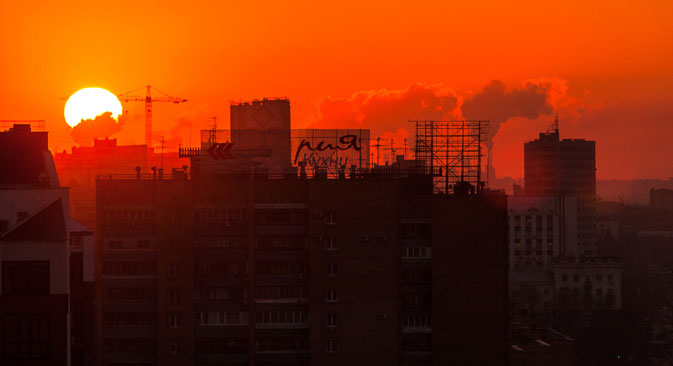 On ressent vraiment l'ambiance de la « capitale de la bière russe » à Samara. Crédit : Igor Stepanov