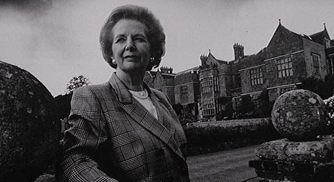L'ancien Premier ministre britannique Margaret Thatcher s'est éteinte lundi à l'âge de 87 ans. Source : flickr / BBC Radio 4