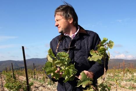 Le délégué du président russe pour les droits des entrepreneurs et le propriétaire de l'entreprise de production de vins pétillants Abrau-Durso Boris Titov. Crédit : Kommersant