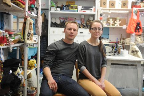 Igor Nikonov et Maria Lopoukhova. Crédir photo : Alexandre Outkine / RIA Novosti