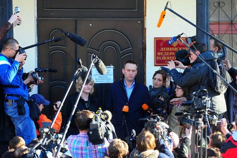 Le procès d'Alexeï Navalny est largement évoqué dans les plateformes européennes, qui sont de longue date connues pour leur attitude négative envers la Russie comme l'OSCE et la Commission européenne. Crédit : Itar-Tass