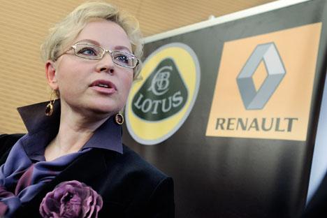 """Oksana Kassatchenko ю 3Pour nous, les managers, le Grand Prix de Monaco est également une course très difficile"""". Crédit : Itar-Tass"""