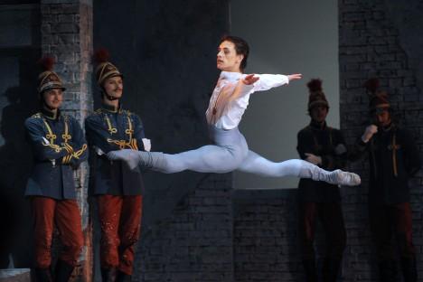 """Sergueï Polounine : """"Le Ballet Royal a toujours reposé sur des Russes. Aujourd'hui il n'y a pas de Russes, personne n'y danse"""". Crédit : Itar-Tass"""