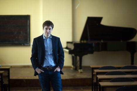 """Emanuele Rimoldi : """"Moscou est une ville très chère, je ne comprends pas comment on peut vivre ici"""". Crédit : Alexandre Outkine / RIA Novosti"""