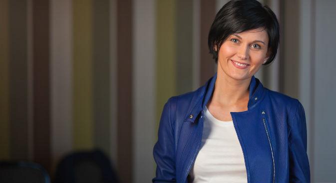 """Alisa Tchoumatchenko : """"Nos jeux sont sans publicités et nous ne comptons pas changer cette stratégie de sitôt"""". Crédit : Game Insight"""