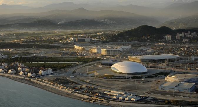 Au total, 260 km de routes ont été construits à Sotchi pour les Jeux Olympiques de 2014. Crédit : Mikhaïl Mordassov