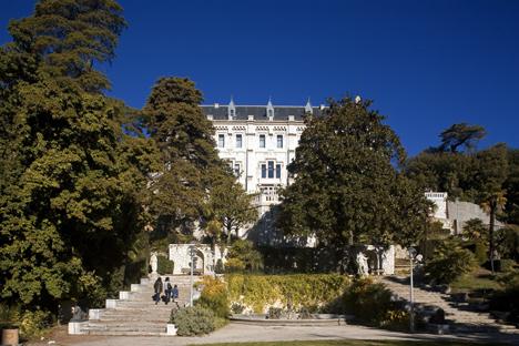 Château de Valrose. Source : AFP / East News