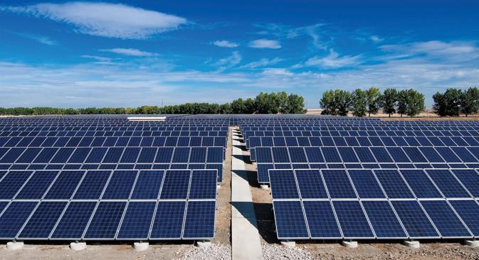 Contrairement à une idée reçue, la Russie possède un vaste potentiel pour l'énergie solaire. Source : service de presse