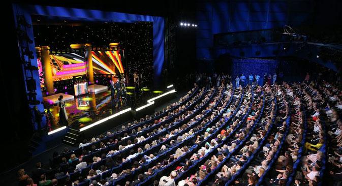 Le public du festival, selon rapport de l'administration de l'année dernière, ce ne sont que 50.000 personnes - moins de la moitié de son plus proche rival, Karlovy Vary. Source : service de presse