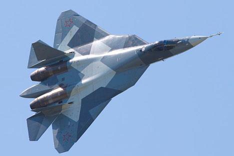 La création du T-50 sera une nouvelle étape technologique pour l'aéronautique russe. Crédit photo : Soukhoï