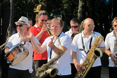 Les concerts se tiendront dans le Club d'Igor Butman (au centre) du 1er au 6 août. Crédit : Comité d'organisation de Sochi 2014