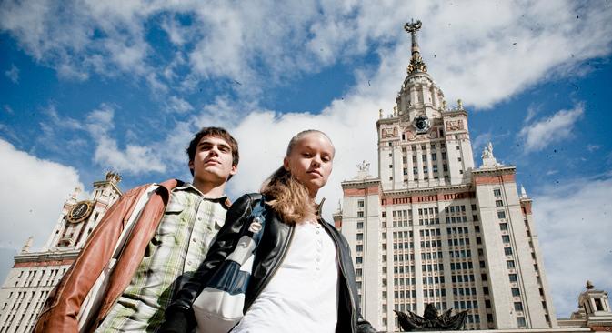 À l'heure actuelle, les 750 universités russes accueillent quelque 250 000 étudiants étrangers venant de 150 pays. Crédit : Kirill Lagoutko