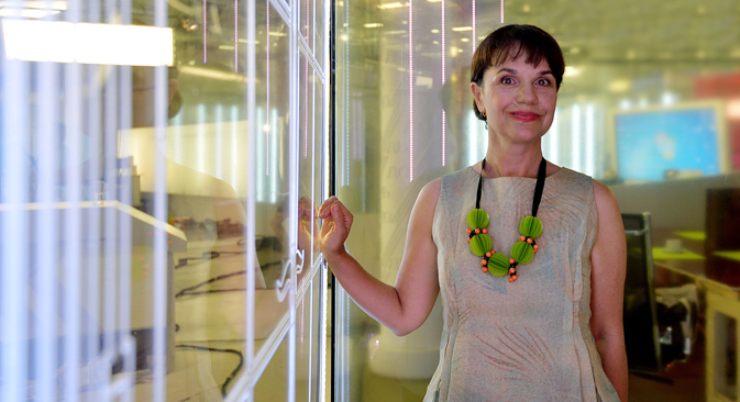 Marina Lochak est une spécialiste de l'art contemporain et de l'avant-garde russe. Crédit : PhotoXPress