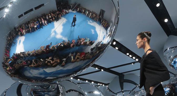 Dior revient sur la Place Rouge. Crédit : RIA Novosti.