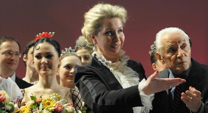 Svetlana Medvedev fait en outre partie du comité d'organisation du festival du film orthodoxe pour enfants baptisé « L'ange radieux ». Crédit : Sergueï Piatakov/RIA Novosti