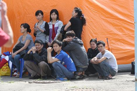 Statt Wanderarbeiter sollen Fachkräfte nach Russland gelockt werden. Foto: ITAR-TASS