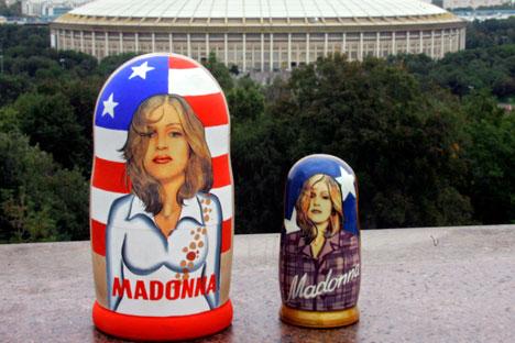 Il est peu probable de voir Madonna résilier ses contrats avec ses agents pour venir en tournée en Russie. Crédit photo : AP