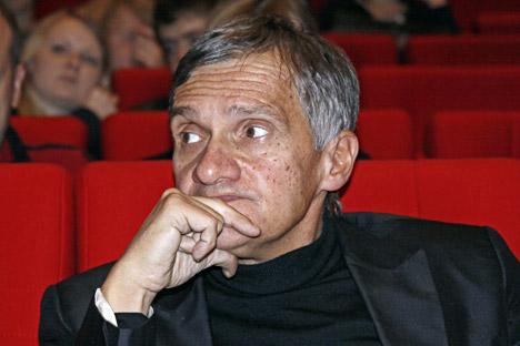 """Iouri Arabov : """"Je suis contre l'idée d'aborder le thème de l'homosexualité, en particulier dans l'art"""". Crédit : Itar-Tass"""