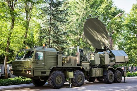 Le système portatif « Krasoukha » produit par la société Kvant de Novossibirsk. Source : service de presse