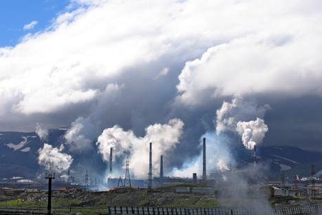 Die nördlichste Großstadt der Erde Norilsk ist die Stadt mit der größten Schadstoffbelastung Russlands. Foto: Lori/Legion Media