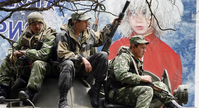 Le jour suivant le début du conflit, la Russie déclarait l'envoi de troupes en Ossétie du Sud. Crédit : Reuters