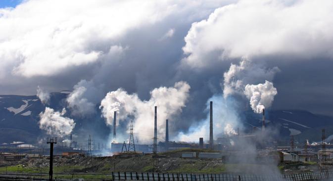 Norilsk conserve son statut de plus grand émetteur de Russie de substances polluantes dans l'atmosphère. Crédit : Lori/Legion Media