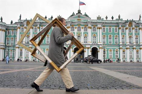 Ces dernières années, Saint-Pétersbourg a acquis une triste notoriété pour tous les autres crimes relatifs aux œuvres d'art. Crédit : PhotoXPress